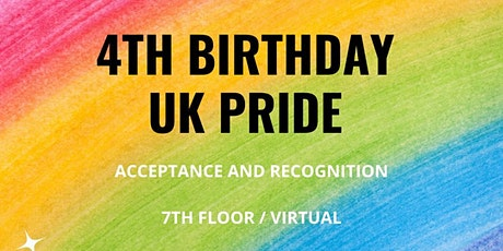 UK Pride - 4th Birthday Party tickets