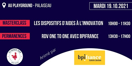 Bpifrance Idf Est - Masterclass à Paris-Saclay (pour les start-up du 91) billets