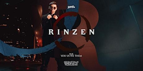 Rinzen at It'll Do Club tickets