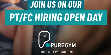 PT Open Day - Pure Gym Manchester Exchange Quay tickets