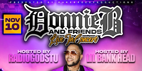 Donnie B and Friends Live In Concert tickets