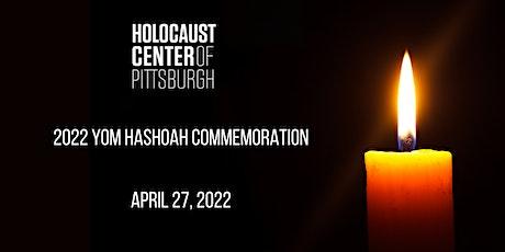 Yom HaShoah 2022 Commemoration tickets