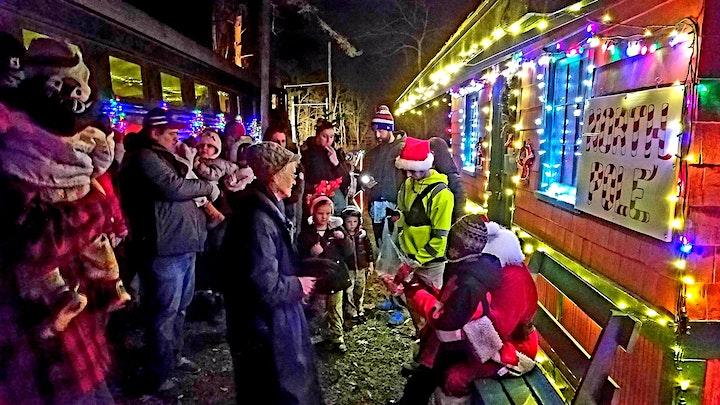 Real Santa Train Rides to the North Pole image