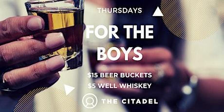 Thursday's For The Boys tickets