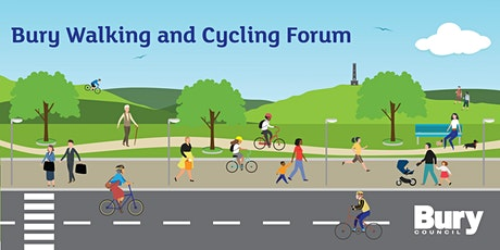 Bury Walking and Cycling Forum - Autumn 2021 tickets