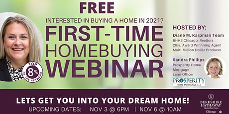 FREE First Time Home Buyer Webinar tickets