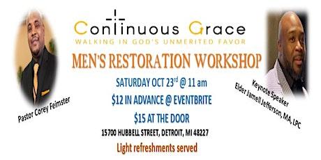 Men's Restoration Workshop tickets