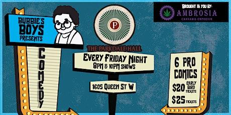 Bubbie's Boys Presents: Comedy @ Parkdale Hall w/ Ambrosia Cannabis tickets