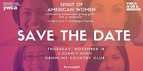 2021 YWCA Spirit of American Women tickets