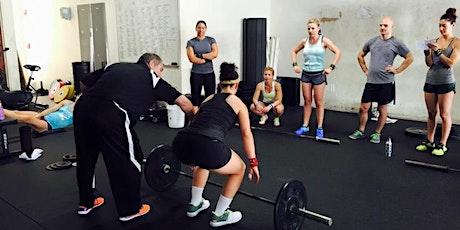 Starboard CrossFit Cohen Weightlifting Seminar tickets