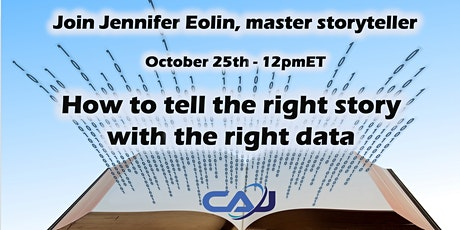 CAJ 066-Jennifer Eolin-How to tell the right story with the right data tickets