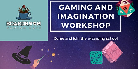 Gaming and Imagination Workshop tickets