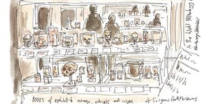 Sketching Class with Edinburgh Sketcher 2.30pm