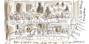 Sketching Class with Edinburgh Sketcher 2.30pm