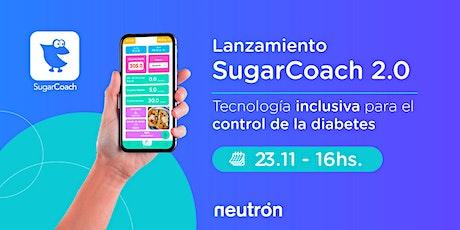 Lanzamiento SugarCoach 2.0 entradas