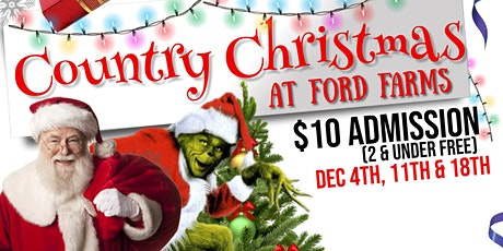 Country Christmas at Ford Farms with Santa! tickets