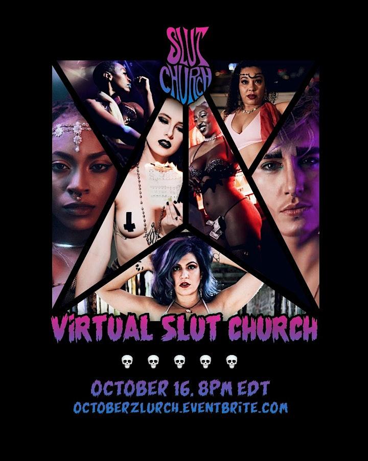 October Virtual Slurch: Metal Burlesque & Gogo image