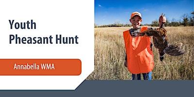 Annabella Youth Pheasant Hunt
