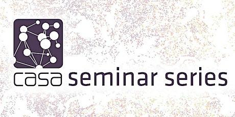 CASA Seminar Series: Fran Meissner, University of Twente tickets