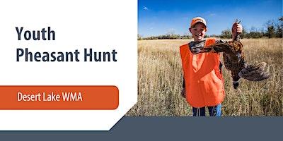 Desert Lake Youth Pheasant Hunt - Emery County