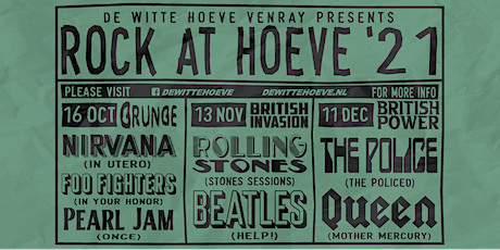 Rock at Hoeve Tickets