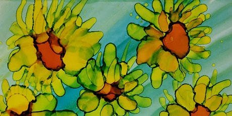 SUNFLOWERS! Alcohol Ink Painting tickets