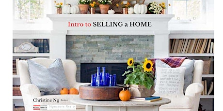INTRO TO SELLING YOUR HOME - TORONTO tickets