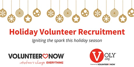 Holiday Volunteer Recruitment: Igniting the spark this holiday season tickets