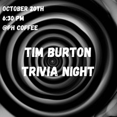 Tim Burton Trivia Night tickets