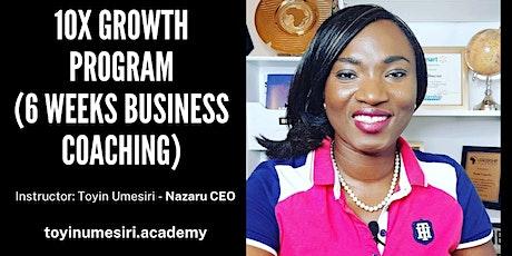 10X Growth Program (6 Weeks Business Optimization Coaching) boletos