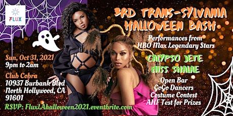 FLUX's 3rd Annual Trans-Sylvania Halloween Bash 2021 tickets