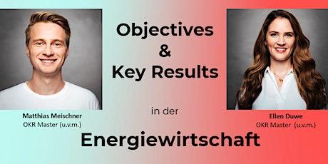 Objectives & Key Results (OKRs) in der Energiewirtschaft Tickets