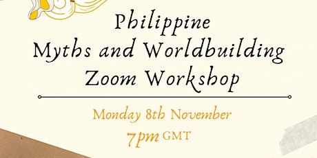 Philippine Myths and World-building Workshop tickets