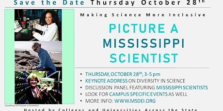 Picture a Mississippi Scientist tickets