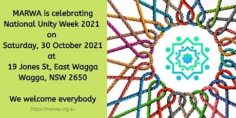 Celebrating National Unity Week 2021 tickets