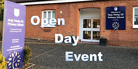 Open Day Event for Holy Trinity Church of England Primary School tickets