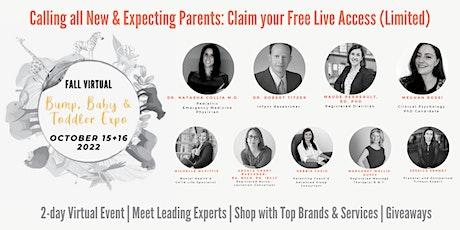 Fall Virtual Bump, Baby & Toddler Expo ® 2021 tickets