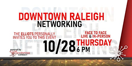 Free Downtown Raleigh Rockstar Connect Networking Event (October) tickets