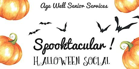 Halloween Senior Social Age 60+ tickets