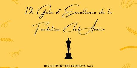 19e Gala d'Excellence Club Avenir (virtuel) billets