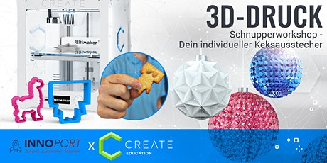 3D-DRUCK SCHNUPPERWORKSHOP - Dein Keksausstecher tickets