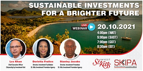 Sustainable Investments for a Brighter Future Tickets