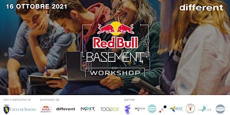 Red Bull Basement Workshop biglietti