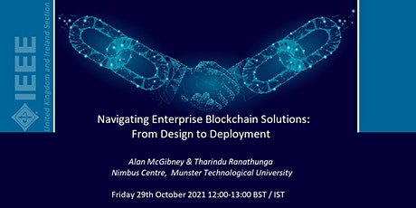 Navigating Enterprise Blockchain Solutions: From Design to Deployment tickets