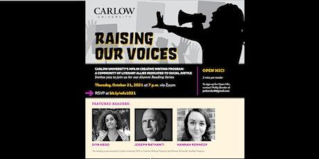 MFA Alumni Reading Series, Raising Our Voices tickets