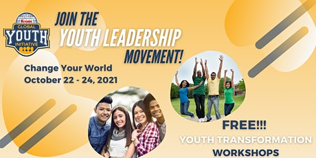 Change Your World Global Youth Initiative October 22 - 24, 2021 tickets
