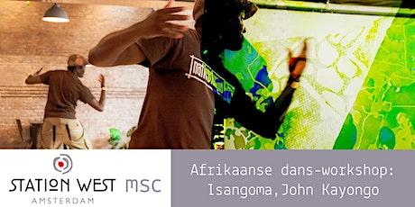 Workshop Isangoma: dans uit Zambia en Zimbabwe (John Kayongo) tickets