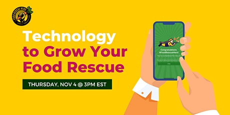 Reach Your 2022 Food Rescue Goals tickets
