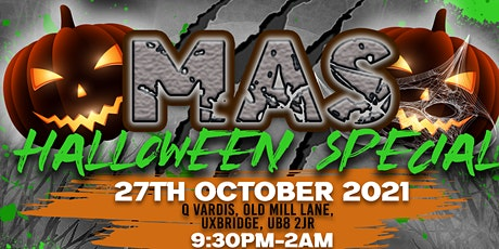 MAS HALLOWEEN SPECIAL tickets
