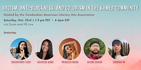 Racism, Anti-Blackness, and Colorism in the Khmer Community tickets